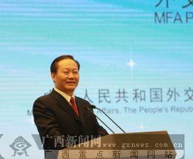 广西壮族自治区党委书记彭清华致辞。